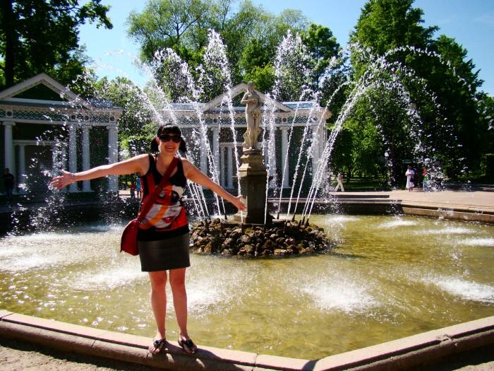 Me in St Petersburg, Russia