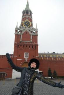 Me on the red square!!