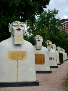 The Socialist sculpture park.