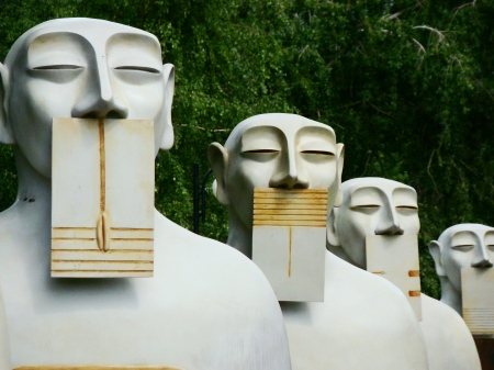 The Socialist sculpture park.