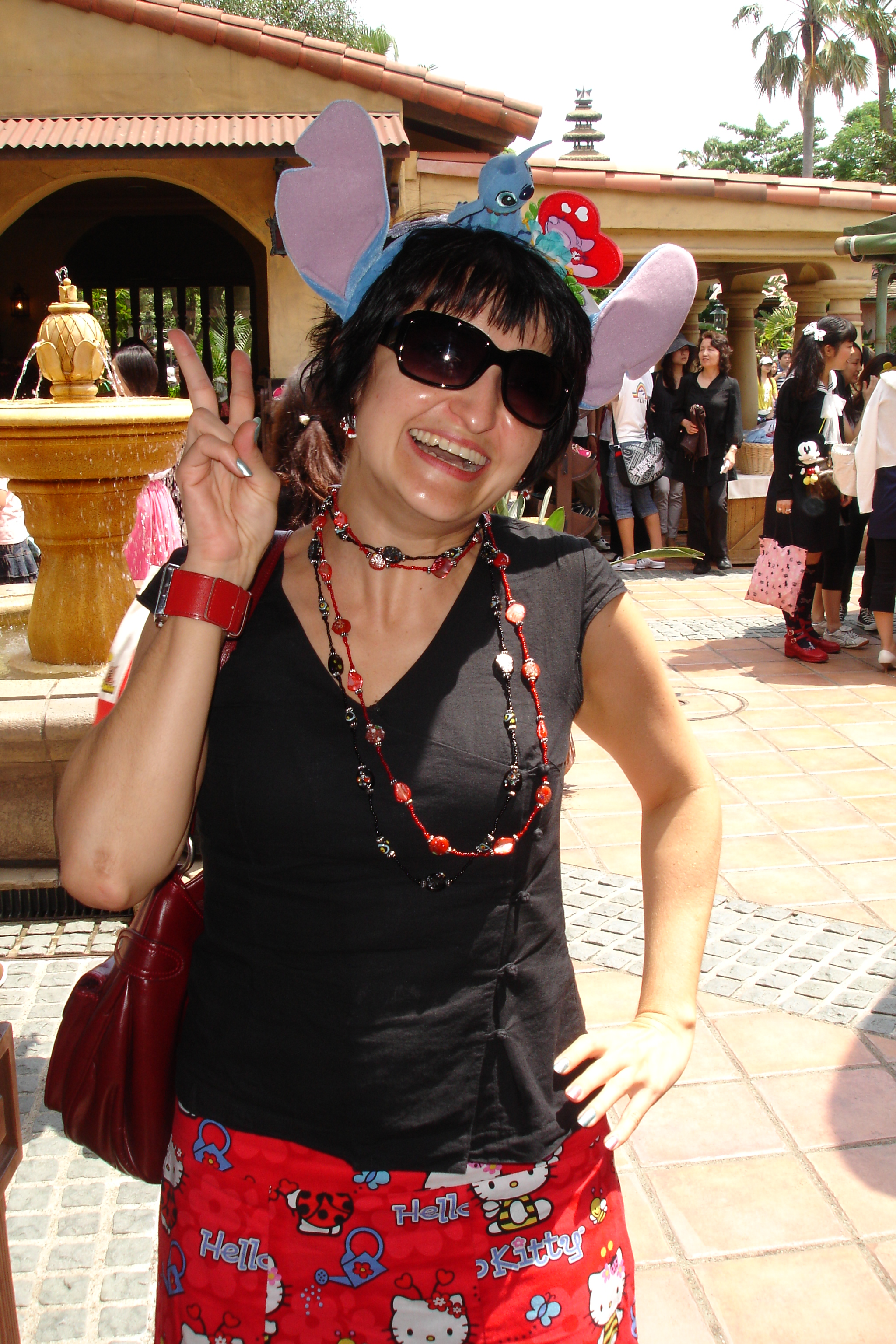 Me at Tokyo Disneyland