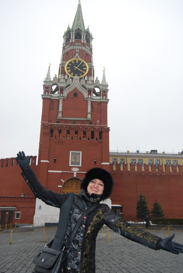 Me on the Red Square in Moscow, Russia