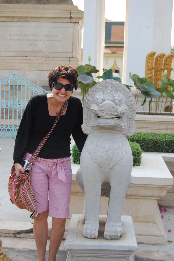 Me in Phnom Penh, Cambodia
