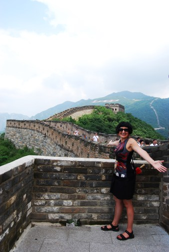 Me on The Great Wall, China