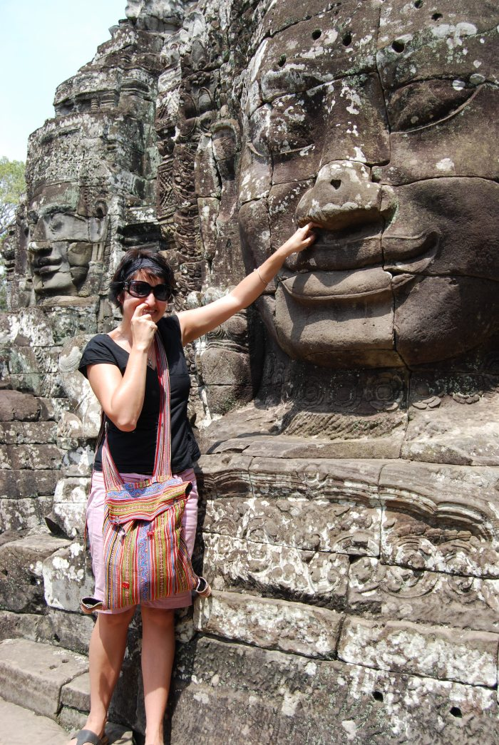 Me at Angkor Wat, Cambodia