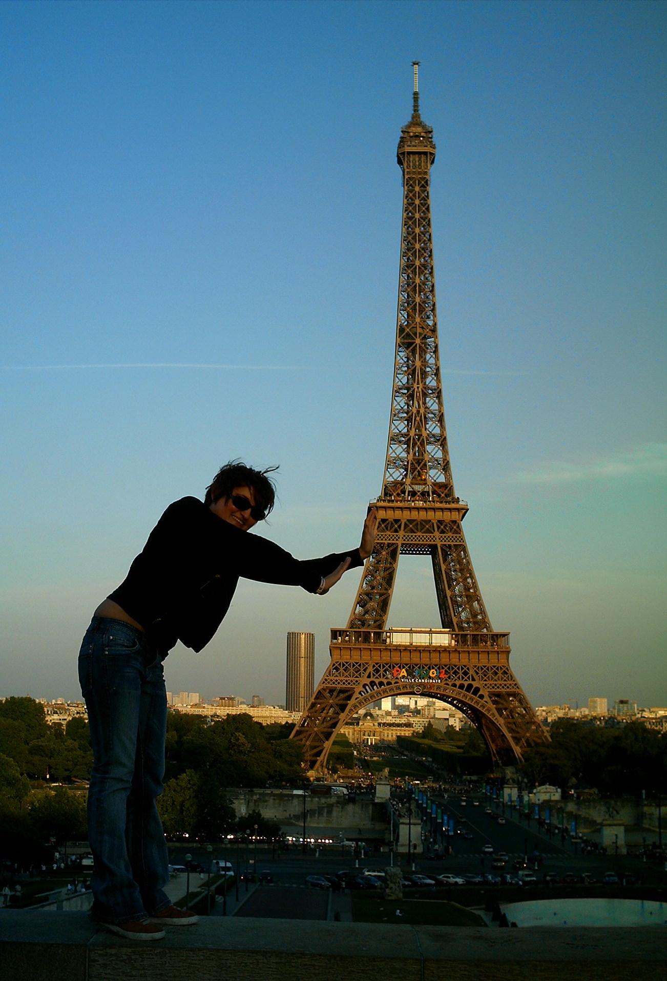 Me in Paris, France