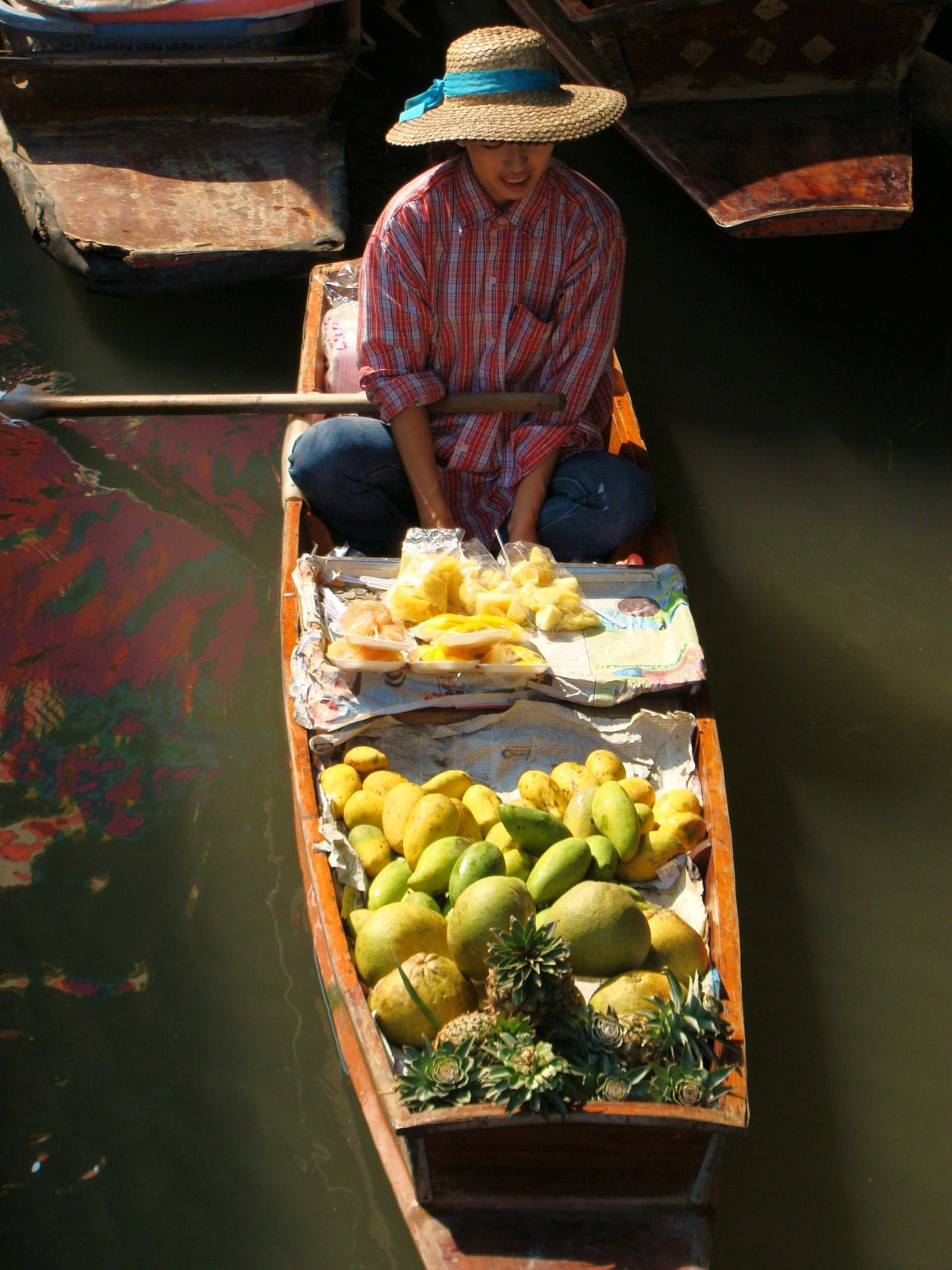 Weekly Photo Challenge: Floating Markets From Above