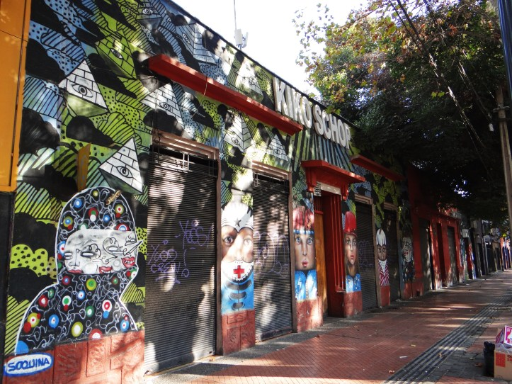 Walking through the streets of the Bellavista district
