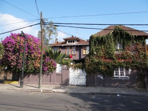 My hostel La Chimba where I am currently staying