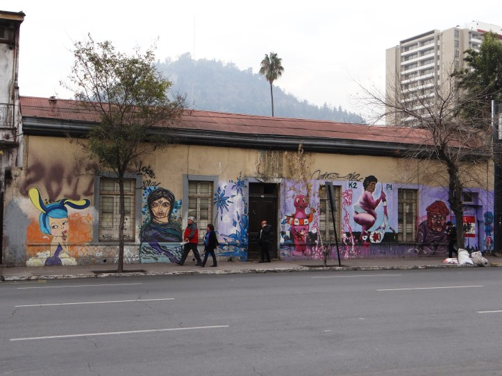 Murals even make old tired buildings beautiful!
