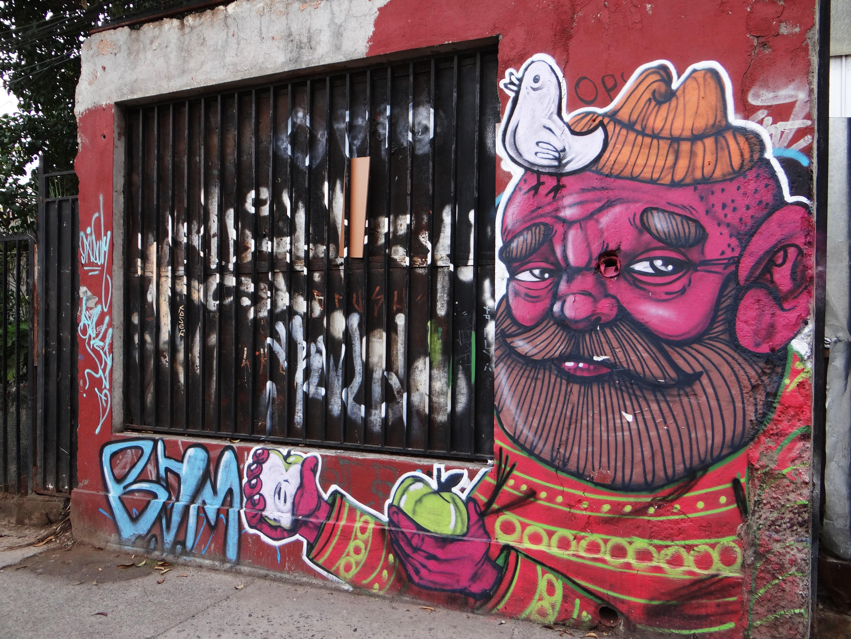 Goodbye graffiti filled Santiago!