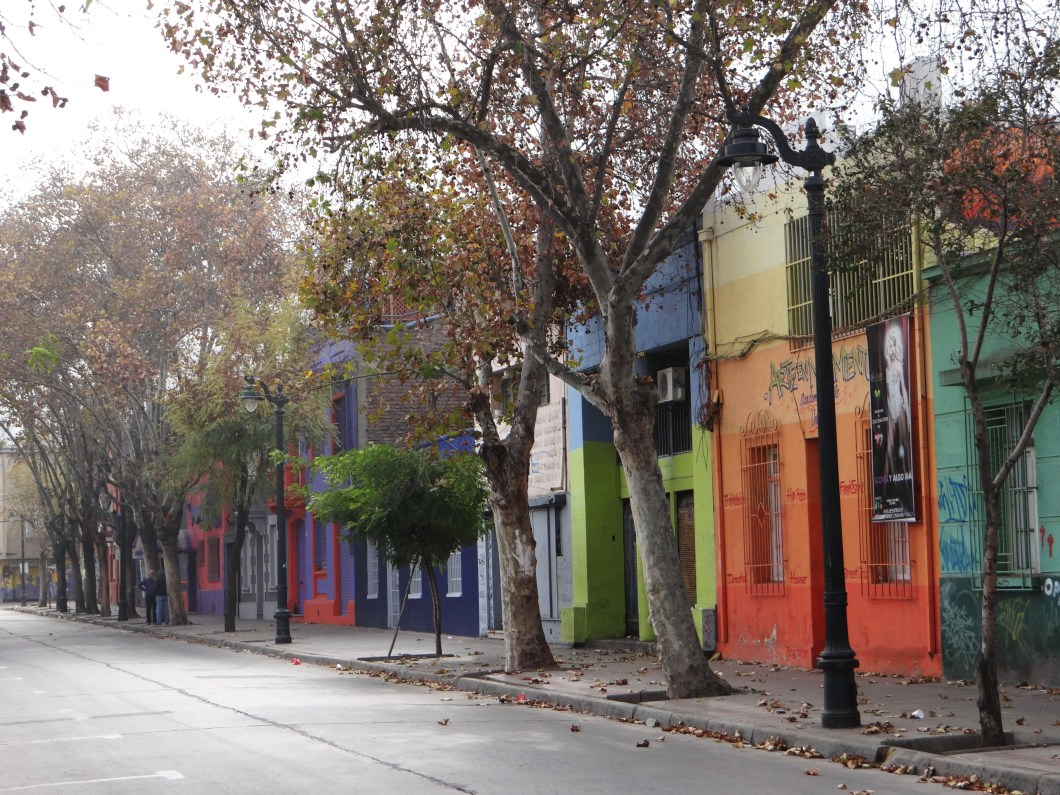 I will miss walking down the colourful tree lined streets of Santiago
