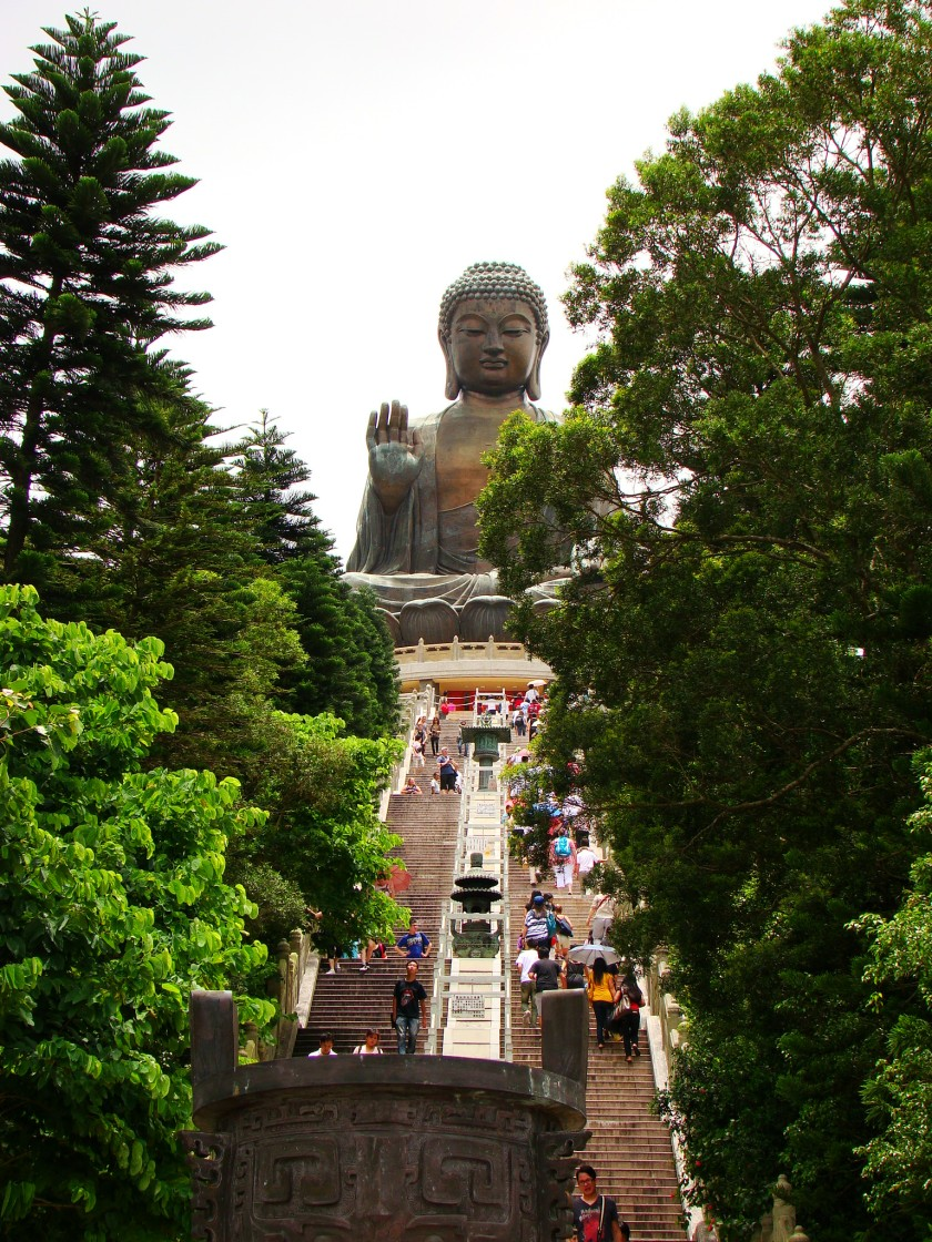 240 steps in order to reach this Giant Buddha