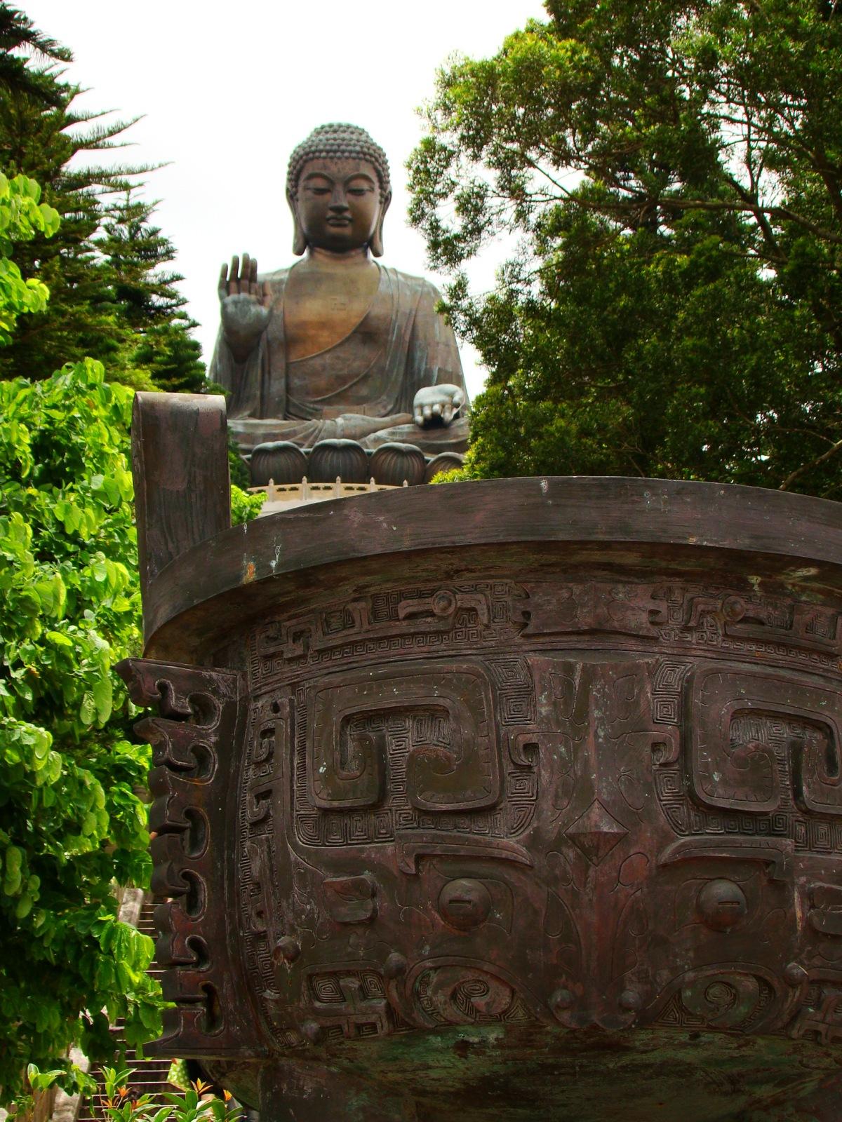 Visiting the Giant Buddha and Po Lin Monastery of Lantau Island, HongKong.