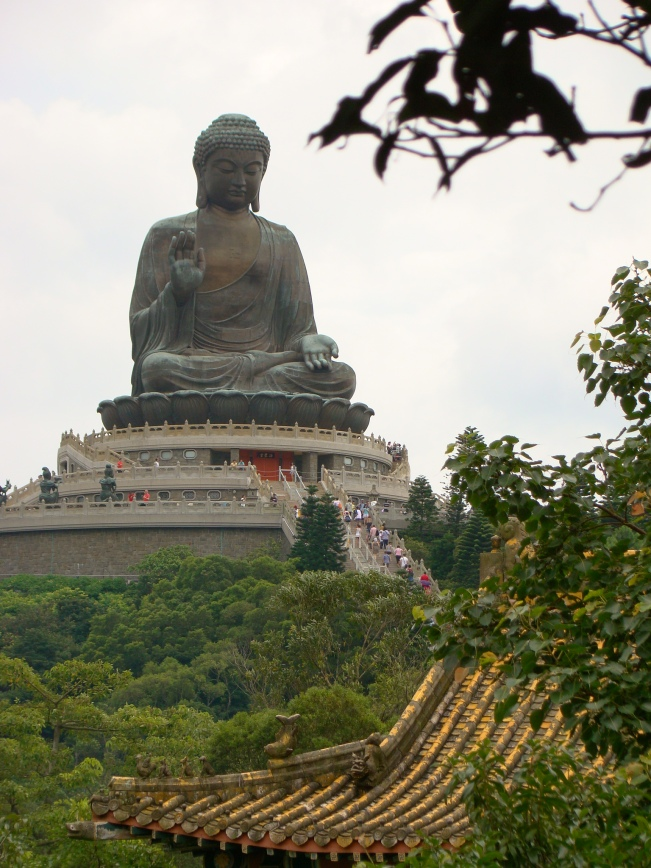 The Buddha is 34 meters tall