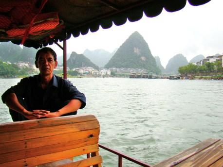 Cruising the Li River