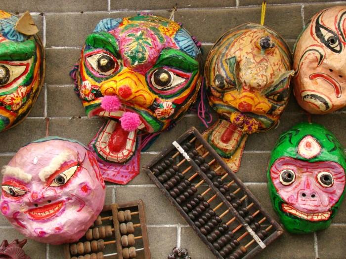 Crazy looking masks
