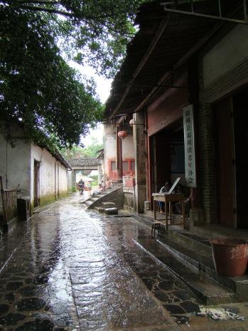 Walking through Xingping
