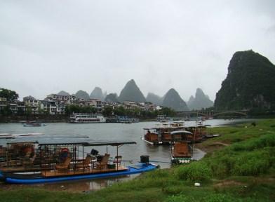 Arriving at Xingping