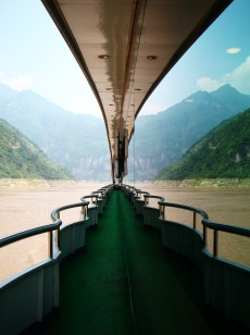 Cruising down the beautiful Yangtze River