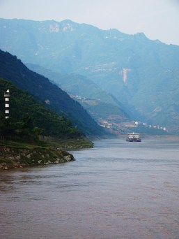 The huge Yangtze River