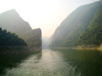 Floating down the Shennong Stream