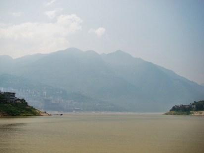 The hazy Yangtze River