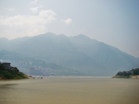 The hazy Yangtze River