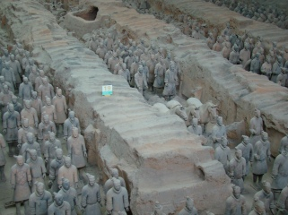 The Terracotta Army!