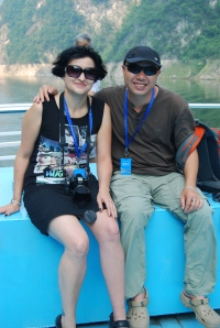 Me and our fabulous guide Jay!