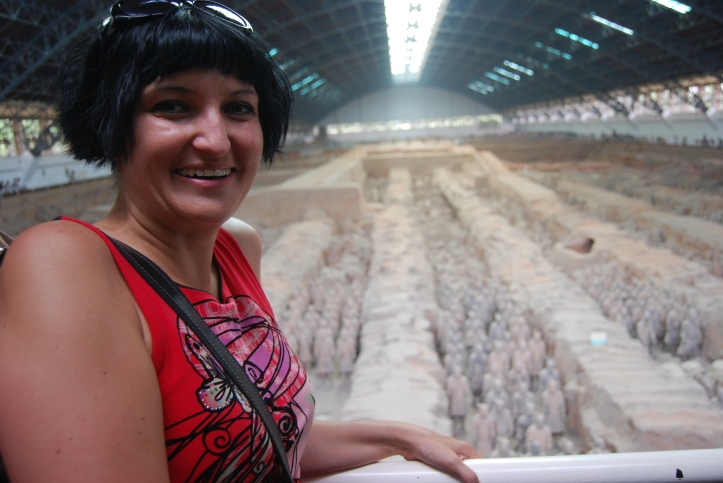 First glimpse of this amazing Terracotta Army