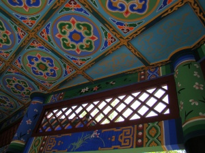 Even the ceilings are intricutely decorated