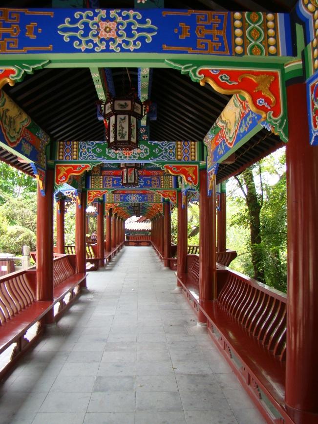 Loving the shaded walkways