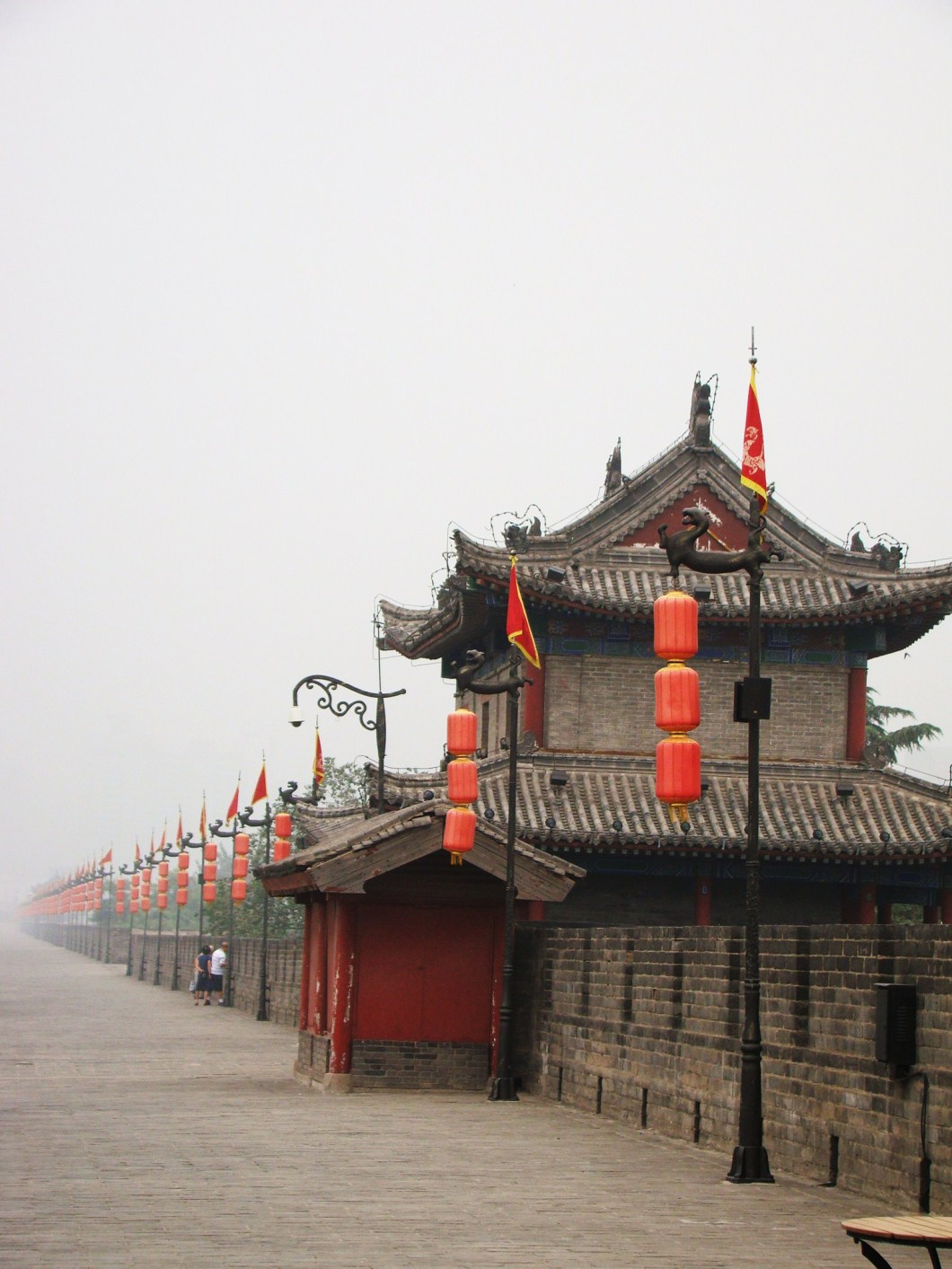 Our Xian City Wall adventure starts!!