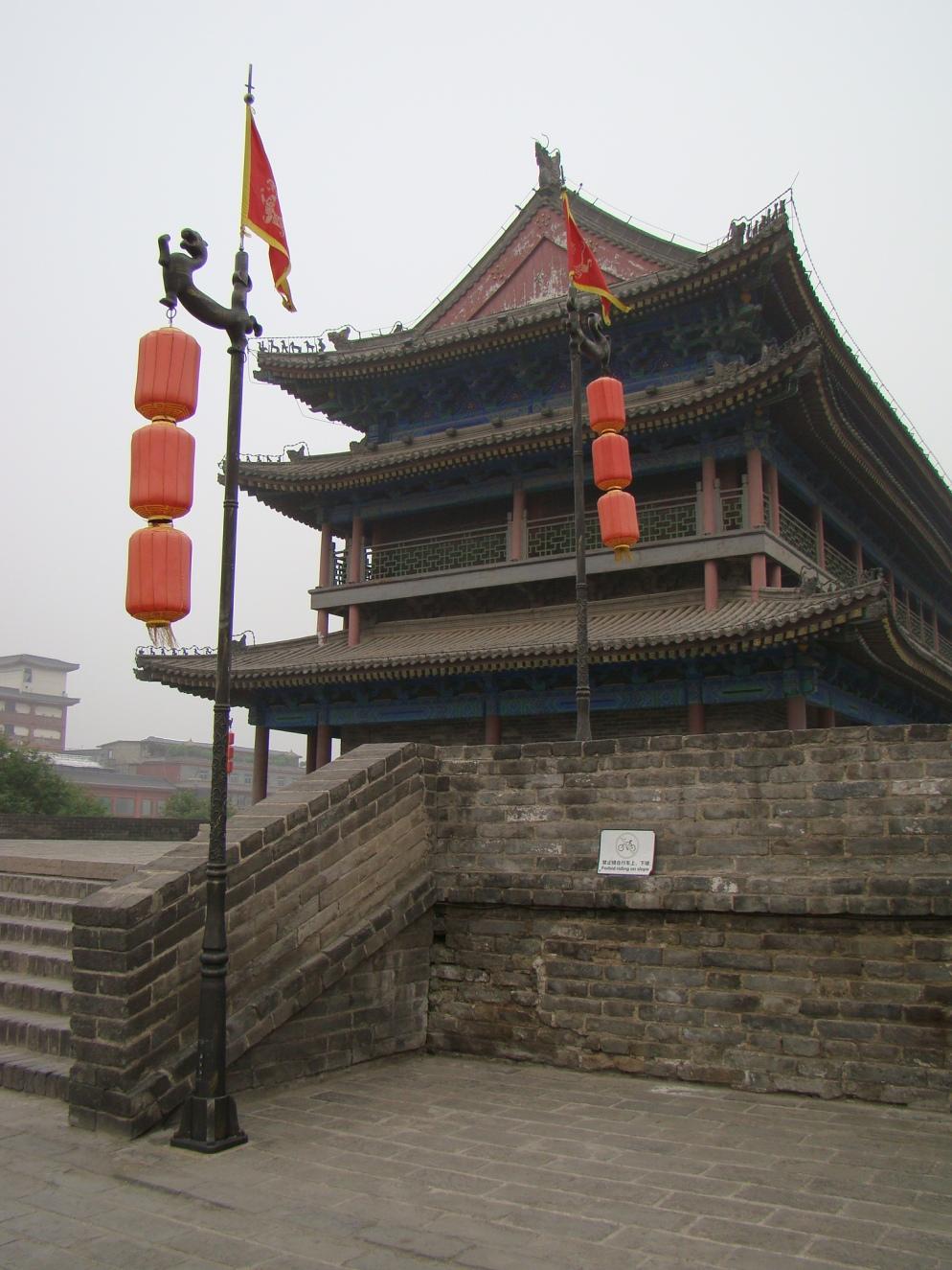 Xian City Wall Watch Tower