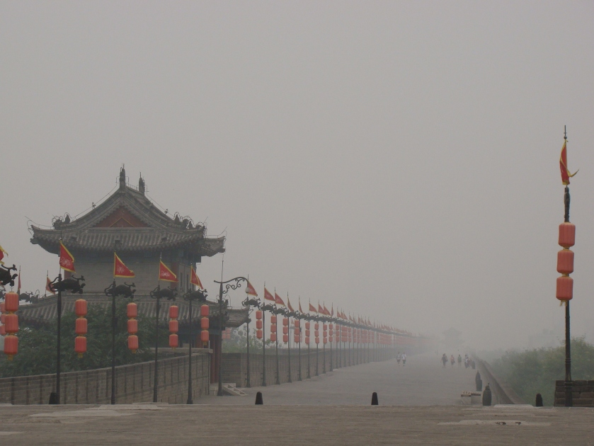 I can understand why the Xian City Wall is world famous, it is stunning!!