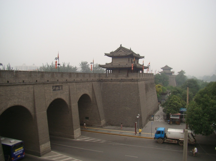 The City wall stands 12 meters tall