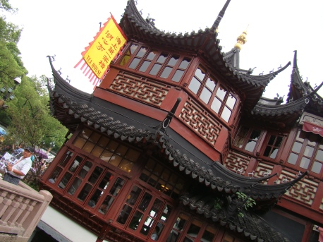 Huxinting Teahouse, the Oldest Teahouse of historic Shanghai