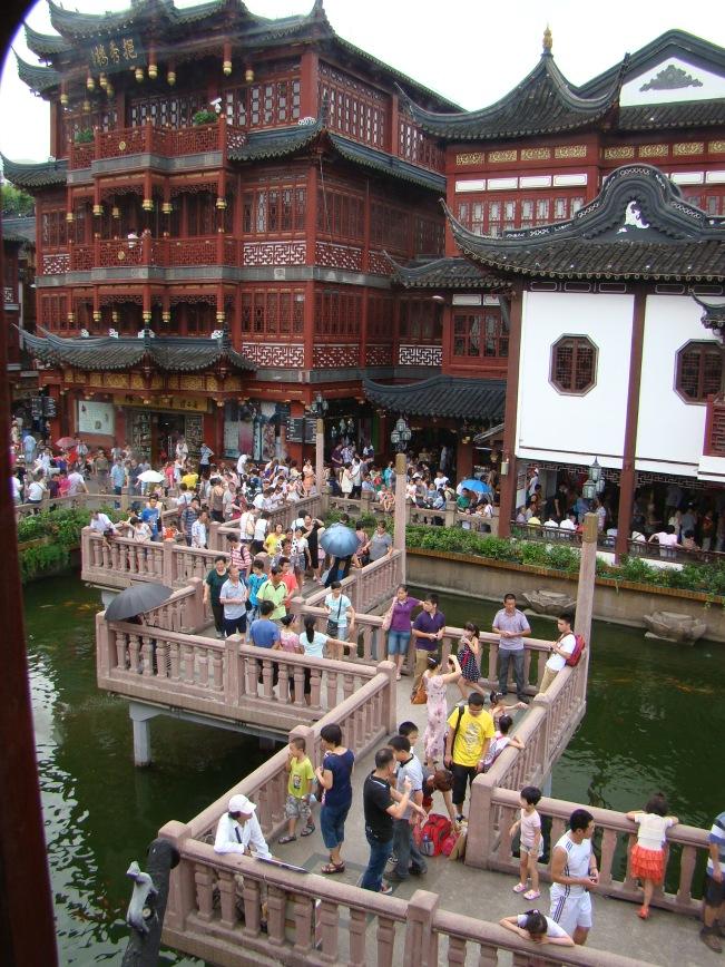 Huxinting Teahouse, the Oldest Teahouse of historic Shanghai