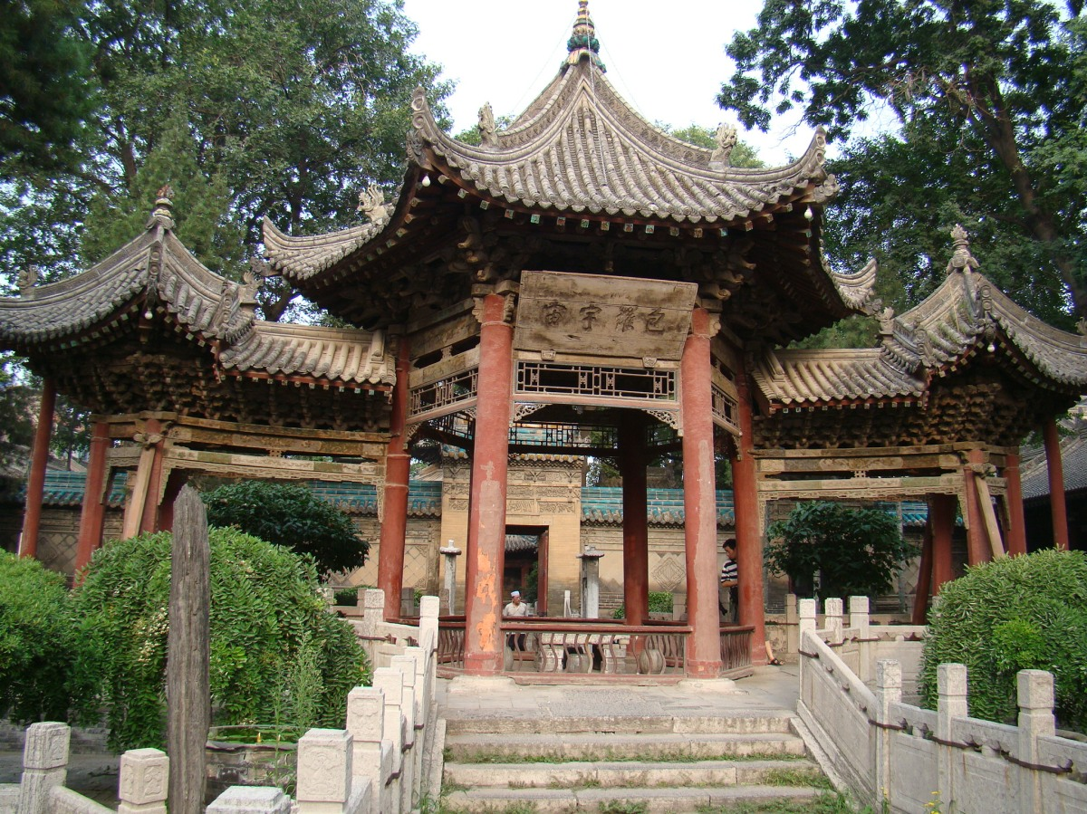 The Great Mosque of Xi'an is completely Chinese instyle
