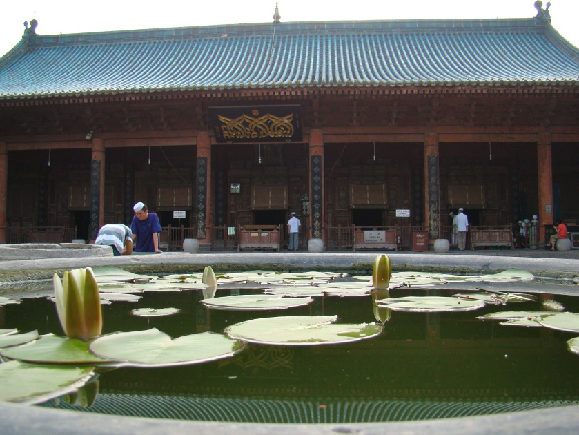 the principal pavilion here, contains the Prayer Hall
