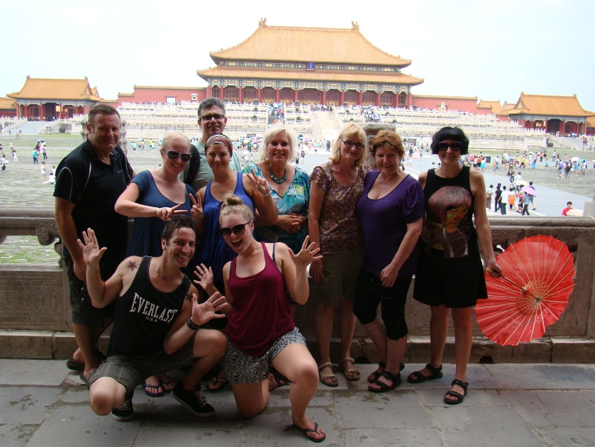 Our Choina Oddesey tour group!!