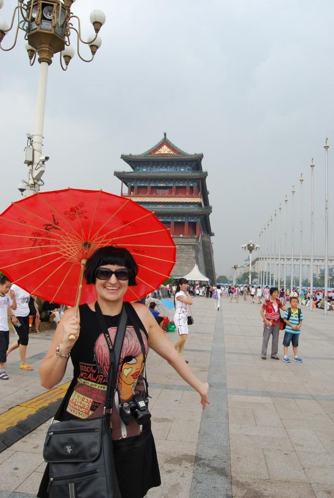 Aproaching Tiananmen Square!