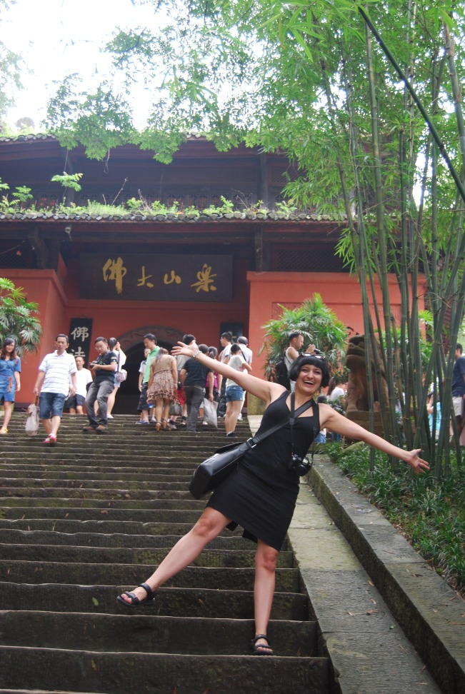 Some more steps up to WuyouTemple