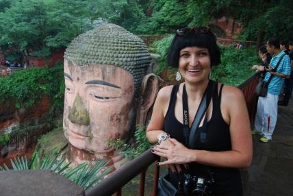 the Leshan Giant Buddha