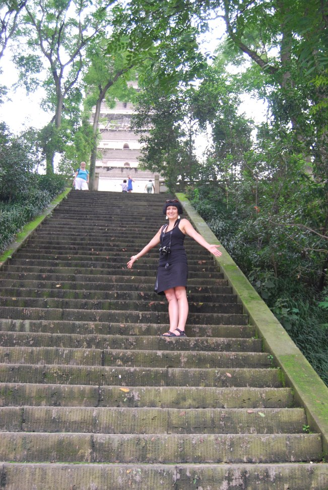 Some more stairs to reach HuazangTemple