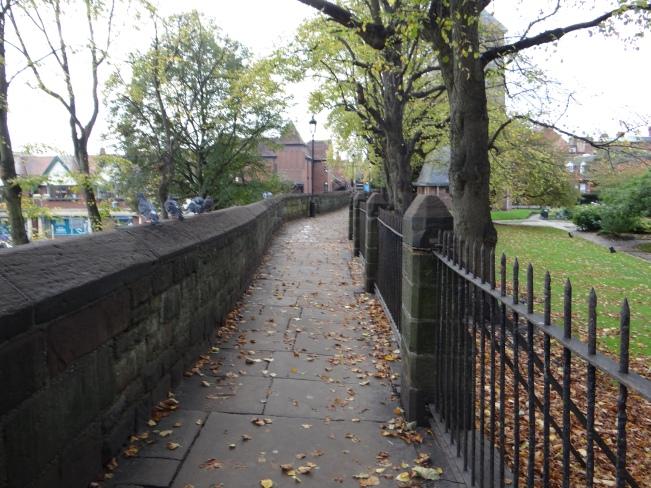 We started our circular city wall walk at Kaleyards Gate