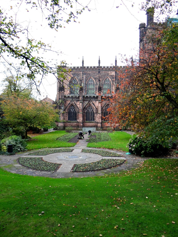 The Cheshire Regiment Memorial Garden