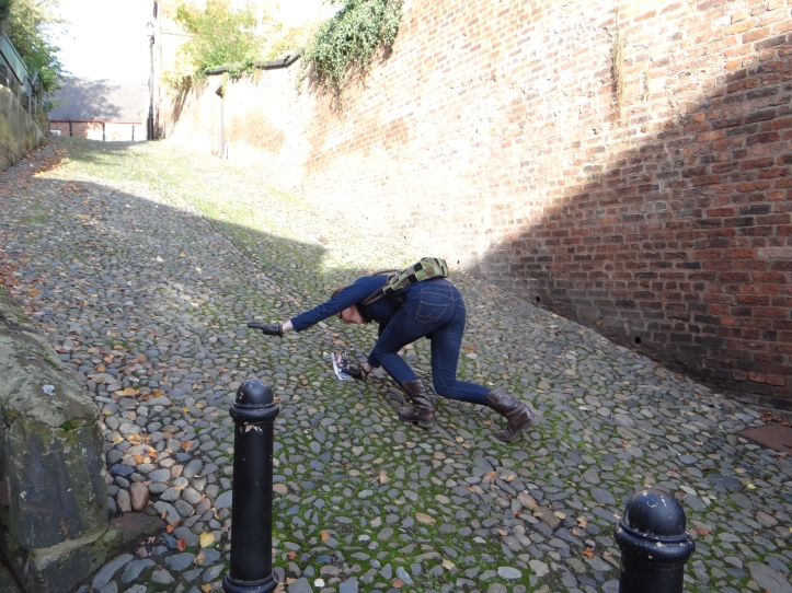 the steepest cobble lane ever