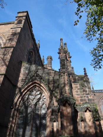 The Medieval Cathedral of Chester